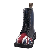 Steel - England Flag, 10-Loch Boots