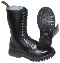 Steel - Full Black, 15-Loch Boots
