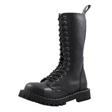 Steel - Full Black, 15-Loch Boots