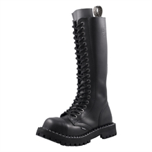 Steel - Full Black, 20-Loch Boots