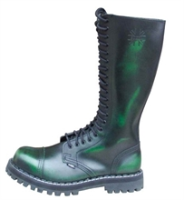 Steel - Rub Off, 20-Loch Boots