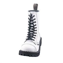 Steel - Full White, 10-Loch Boots
