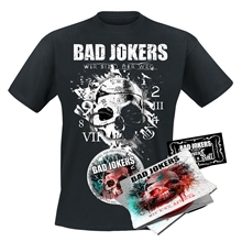 Bad Jokers - Wir sind der Weg, Bundle (CD+Shirt)