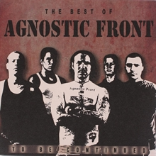 Agnostic Front - To be continued, CD