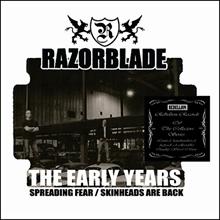 Razorblade - The early years, CD