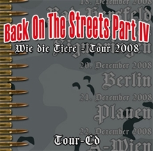 Back on the Streets - Tour CD 2008