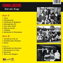 KrawallBrüder - Auf Alte Tage, LP