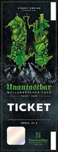 Unantastbar - Wellenbrecher Tour 21/22, Ticket